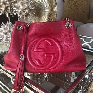 (Red) Gucci soho bag. Great condition